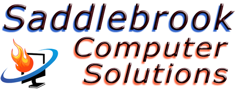 Saddlebrook Computer Solutions Retina Logo